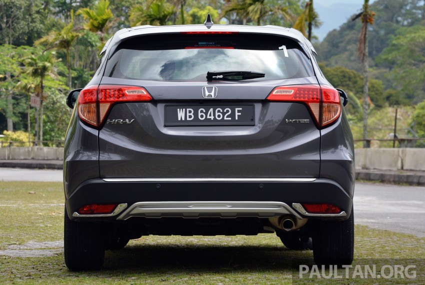 DRIVEN: Honda HR-V punches above its weight Image #346960