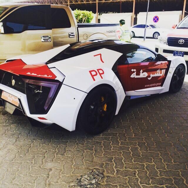Lykan Hypersport added to Abu Dhabi's police fleet Image #345851