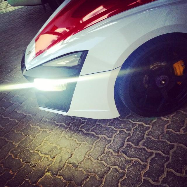 Lykan Hypersport added to Abu Dhabi's police fleet Image #345853