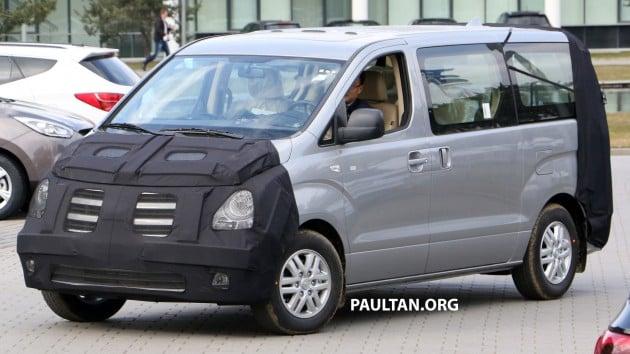 Hyundai H1 Face 2