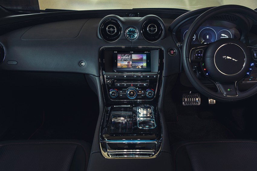 2016 Jaguar XJ facelift debuts with new looks and tech Image #391204