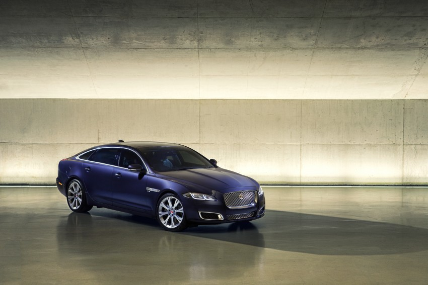 2016 Jaguar XJ facelift debuts with new looks and tech Image #391242