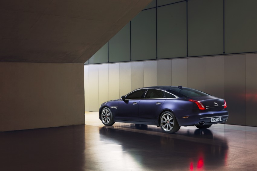 2016 Jaguar XJ facelift debuts with new looks and tech Image #391243