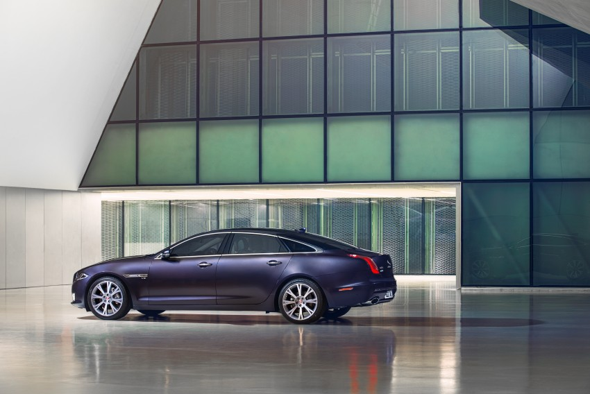 2016 Jaguar XJ facelift debuts with new looks and tech Image #391244