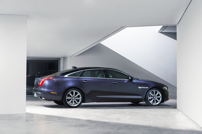 2016 Jaguar XJ facelift debuts with new looks and tech Image #391245
