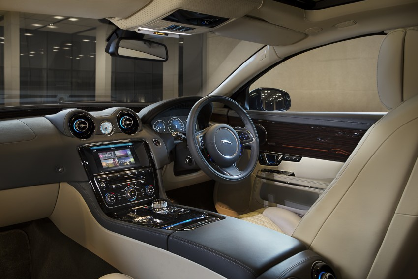 2016 Jaguar XJ facelift debuts with new looks and tech Image #391247