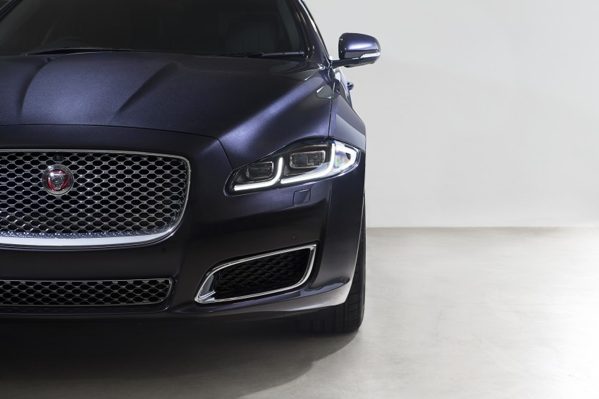 2016 Jaguar XJ facelift debuts with new looks and tech Image #391227