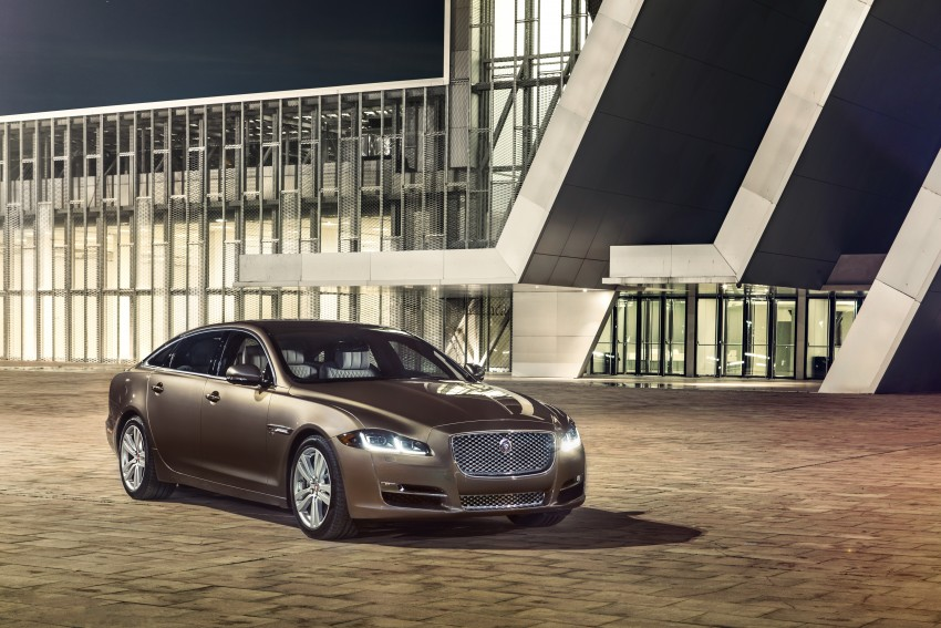 2016 Jaguar XJ facelift debuts with new looks and tech Image #391231