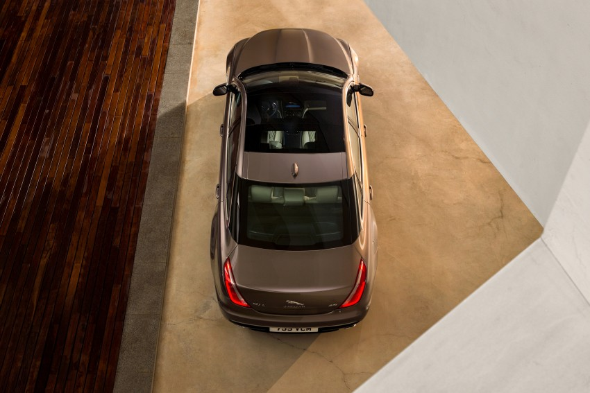 2016 Jaguar XJ facelift debuts with new looks and tech Image #391232