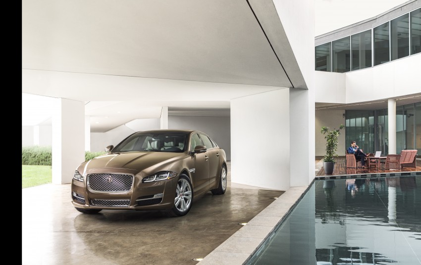 2016 Jaguar XJ facelift debuts with new looks and tech Image #391233