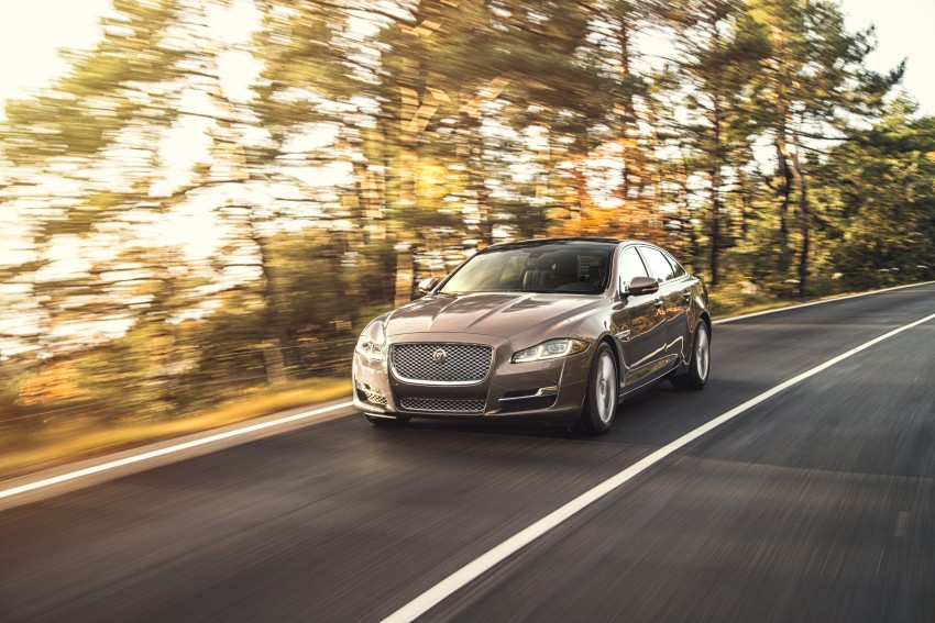 2016 Jaguar XJ facelift debuts with new looks and tech Image #391234