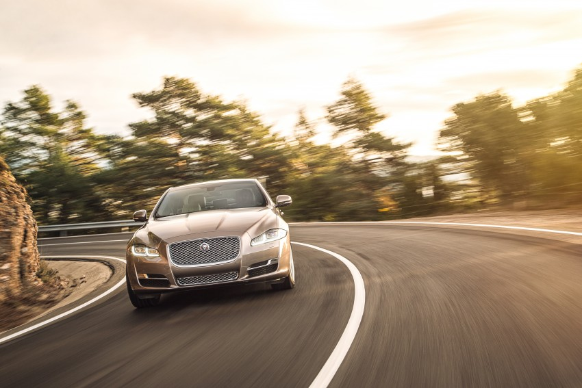 2016 Jaguar XJ facelift debuts with new looks and tech Image #391237