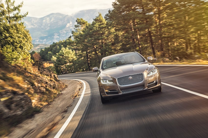 2016 Jaguar XJ facelift debuts with new looks and tech Image #391209