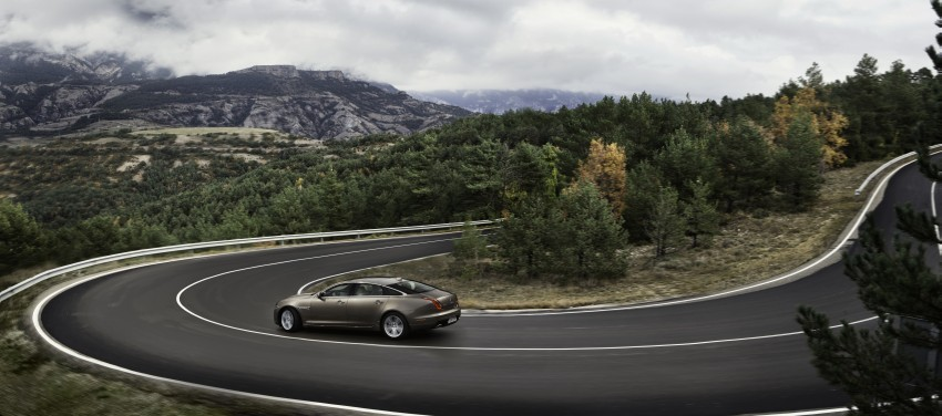 2016 Jaguar XJ facelift debuts with new looks and tech Image #391214