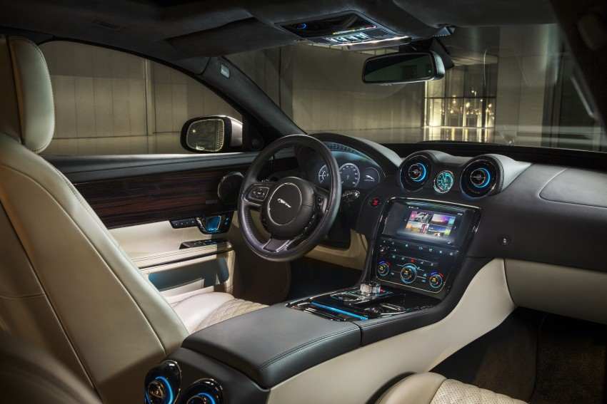 2016 Jaguar XJ facelift debuts with new looks and tech Image #391250