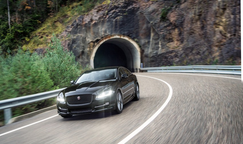 2016 Jaguar XJ facelift debuts with new looks and tech Image #391197