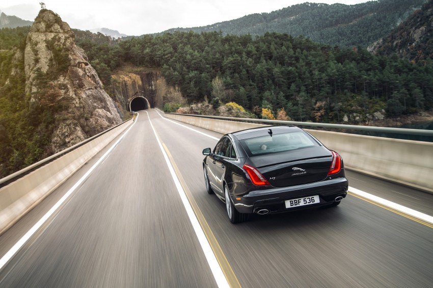 2016 Jaguar XJ facelift debuts with new looks and tech Image #391198