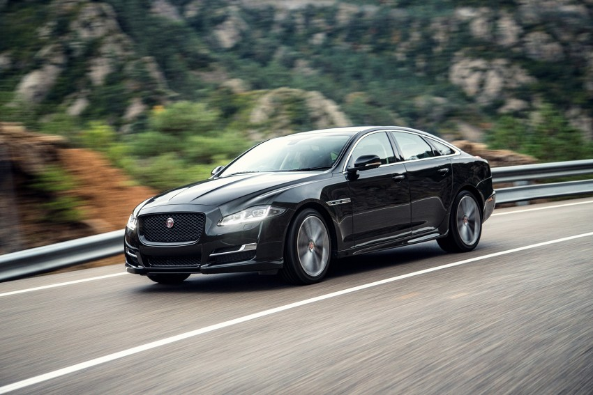 2016 Jaguar XJ facelift debuts with new looks and tech Image #391199