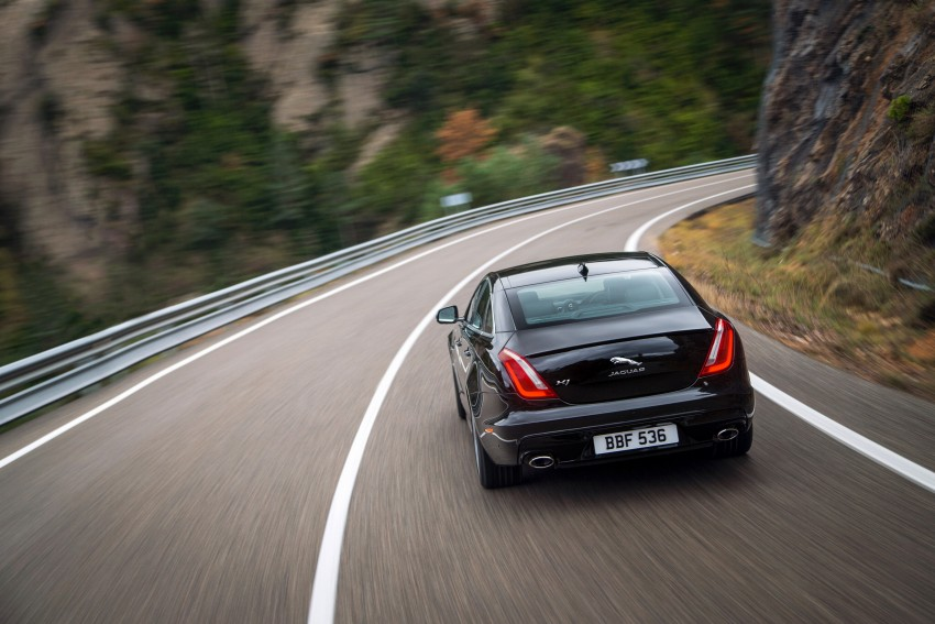 2016 Jaguar XJ facelift debuts with new looks and tech Image #391200