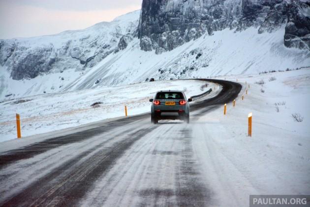LR Disco Sport Iceland drive 45