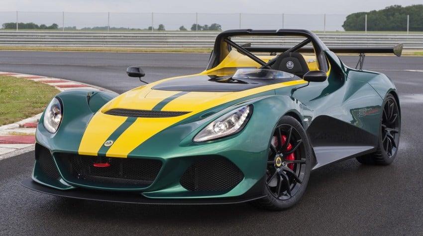 Lotus 3-Eleven unveiled – fastest Lotus road car ever Image #354855