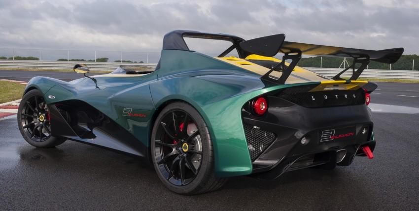 Lotus 3-Eleven unveiled – fastest Lotus road car ever Image #354856