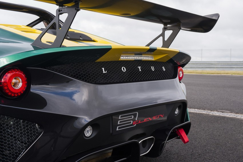 Lotus 3-Eleven unveiled – fastest Lotus road car ever Image #354859