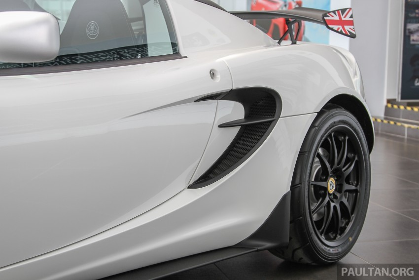 Lotus Elise 220 Cup now in Malaysia, from RM316k; Exige S Automatic and run-out Evora S also on display Image #353441