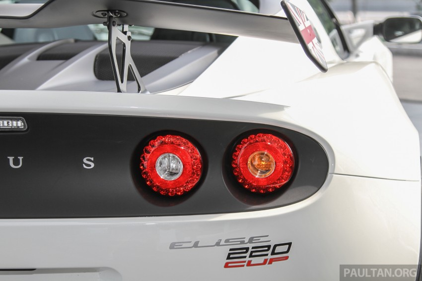 Lotus Elise 220 Cup now in Malaysia, from RM316k; Exige S Automatic and run-out Evora S also on display Image #353445