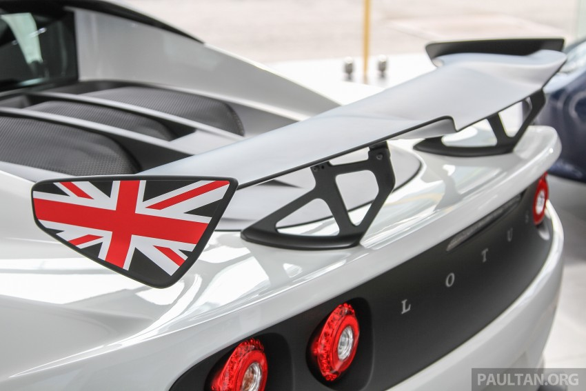 Lotus Elise 220 Cup now in Malaysia, from RM316k; Exige S Automatic and run-out Evora S also on display Image #353447