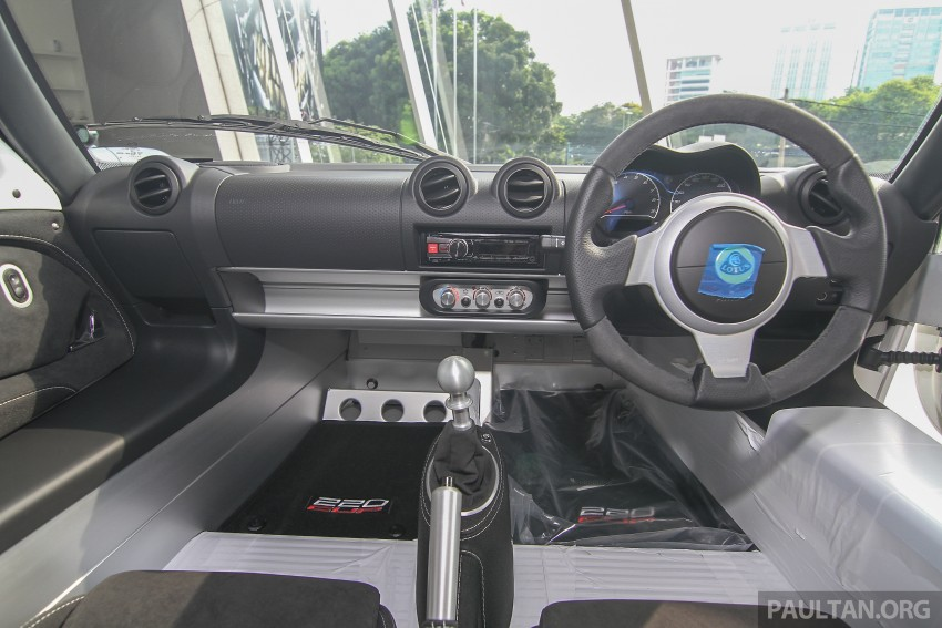 Lotus Elise 220 Cup now in Malaysia, from RM316k; Exige S Automatic and run-out Evora S also on display Image #353457