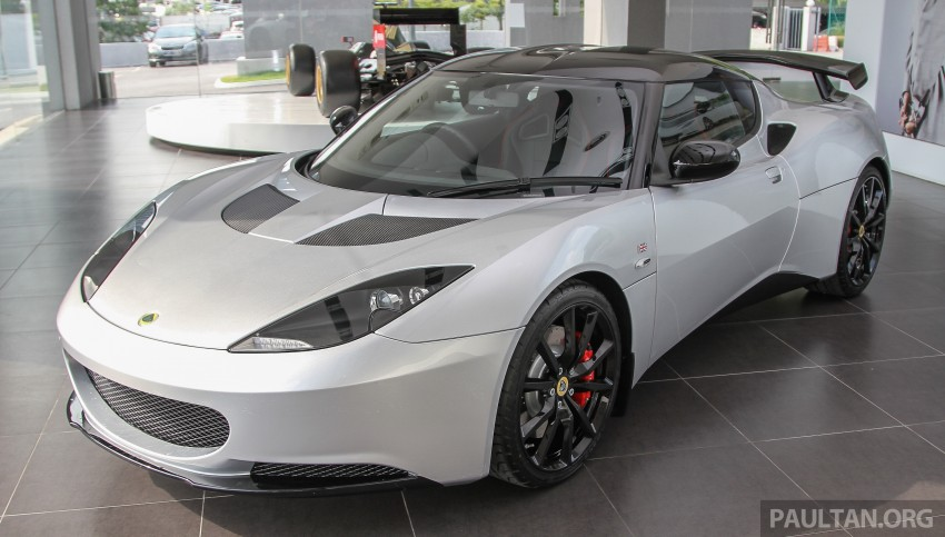 Lotus Elise 220 Cup now in Malaysia, from RM316k; Exige S Automatic and run-out Evora S also on display Image #353485