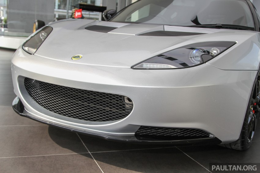 Lotus Elise 220 Cup now in Malaysia, from RM316k; Exige S Automatic and run-out Evora S also on display Image #353486