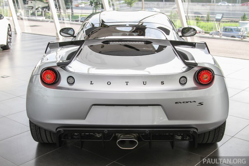 Lotus Elise 220 Cup now in Malaysia, from RM316k; Exige S Automatic and run-out Evora S also on display Image #353492