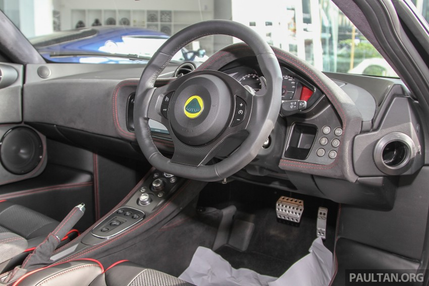 Lotus Elise 220 Cup now in Malaysia, from RM316k; Exige S Automatic and run-out Evora S also on display Image #353499