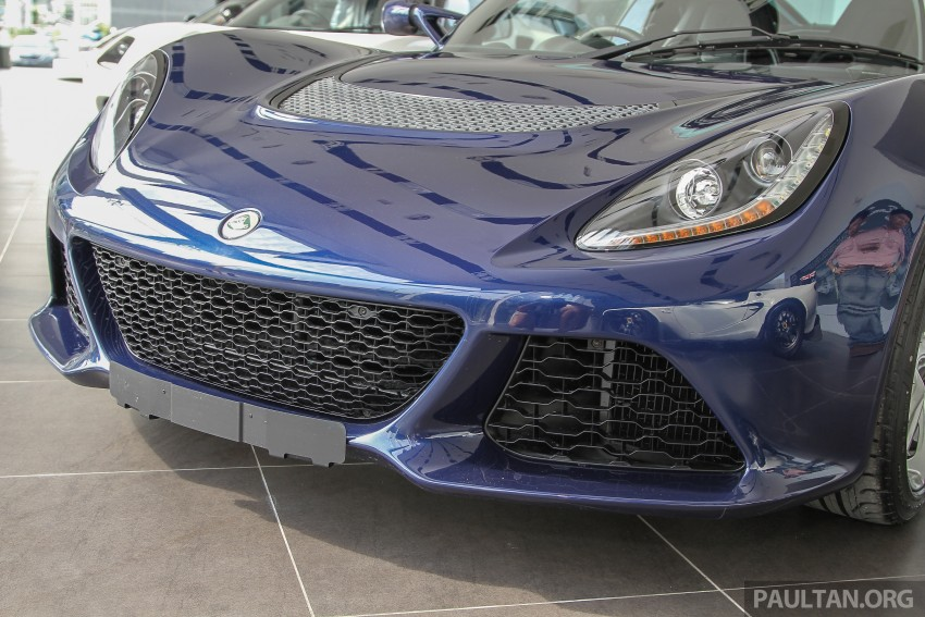 Lotus Elise 220 Cup now in Malaysia, from RM316k; Exige S Automatic and run-out Evora S also on display Image #353463