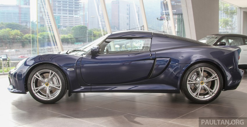 Lotus Elise 220 Cup now in Malaysia, from RM316k; Exige S Automatic and run-out Evora S also on display Image #353467