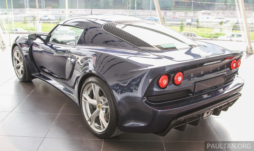 Lotus Elise 220 Cup now in Malaysia, from RM316k; Exige S Automatic and run-out Evora S also on display Image #353470
