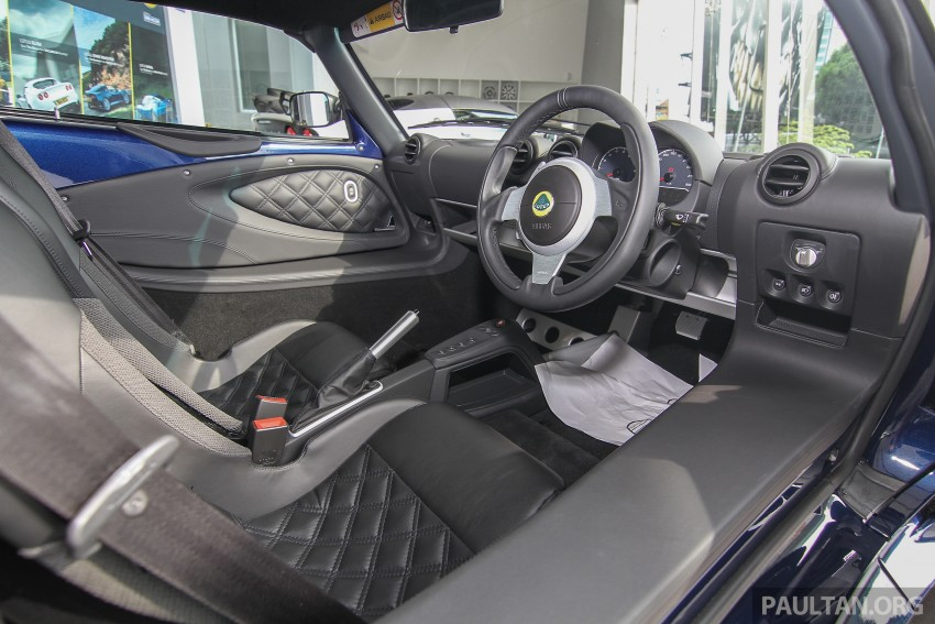 Lotus Elise 220 Cup now in Malaysia, from RM316k; Exige S Automatic and run-out Evora S also on display Image #353482