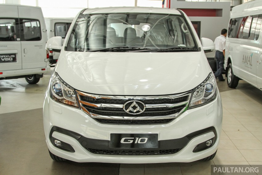 Maxus G10 – a RM120k MPV that can seat up to 11 Image #346144