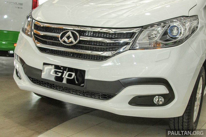 Maxus G10 – a RM120k MPV that can seat up to 11 Image #346139