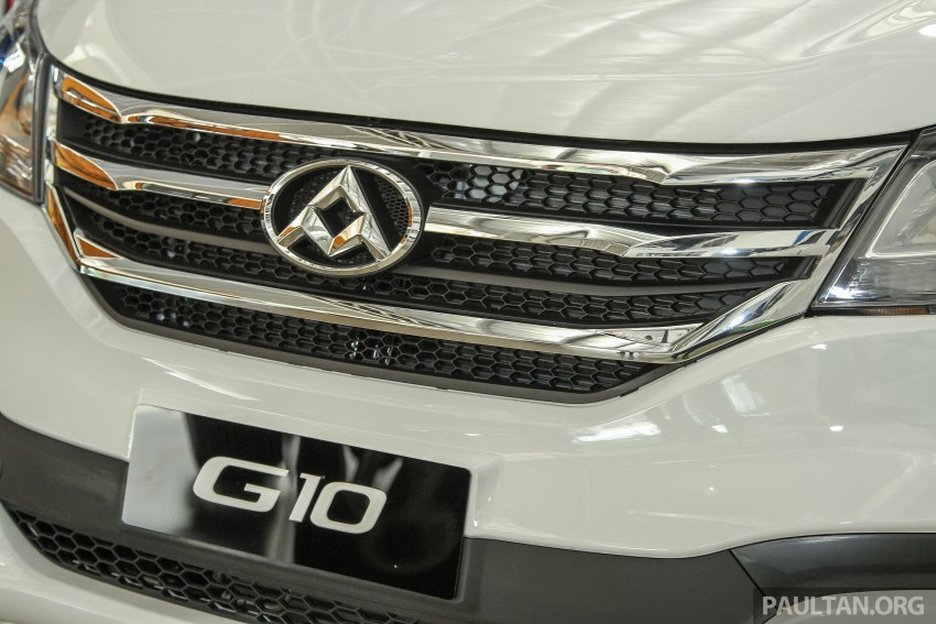Maxus G10 – a RM120k MPV that can seat up to 11 Image #346142