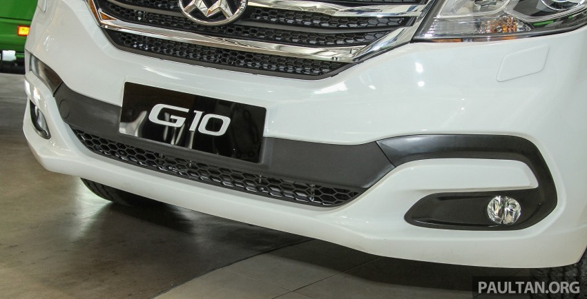 Maxus G10 – a RM120k MPV that can seat up to 11 Image #346136