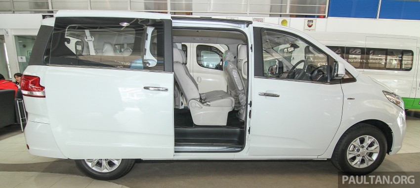 Maxus G10 – a RM120k MPV that can seat up to 11 Image #346077