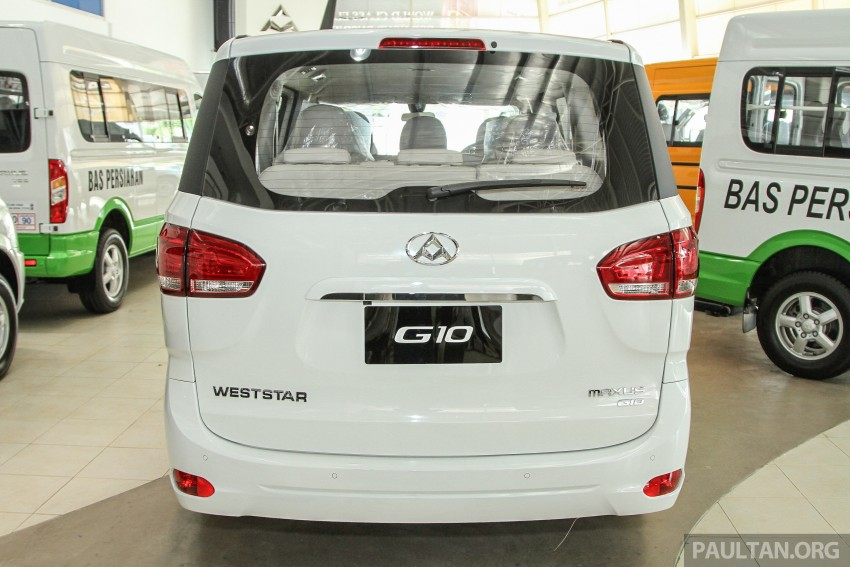 Maxus G10 – a RM120k MPV that can seat up to 11 Image #346129