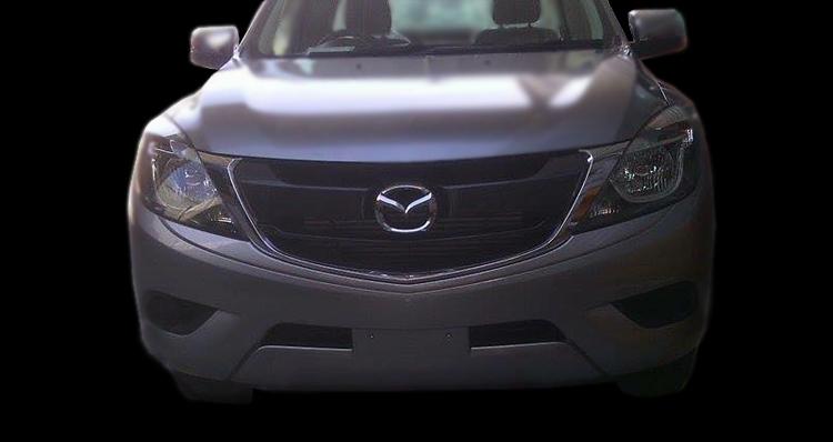 SPYSHOTS: Mazda BT-50 pick-up facelift in Thailand Image #351419
