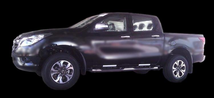 SPYSHOTS: Mazda BT-50 pick-up facelift in Thailand Image #351422