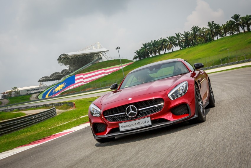 Mercedes-AMG GT S now in Malaysia from RM1.125mil Image #353760