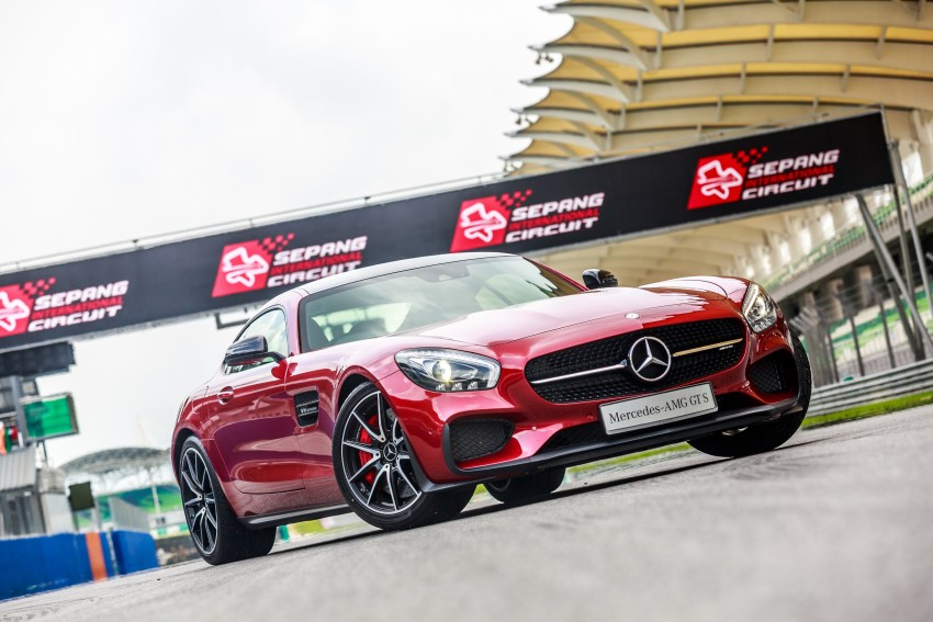 Mercedes-AMG GT S now in Malaysia from RM1.125mil Image #353768