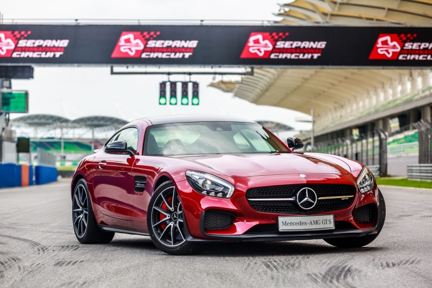Mercedes-AMG GT S now in Malaysia from RM1.125mil Image #353769